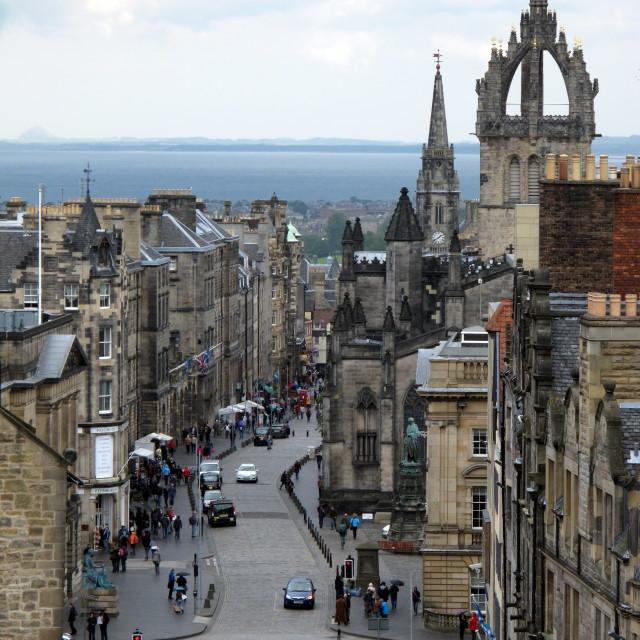 """Edinburgh, Scotland"" stock image"