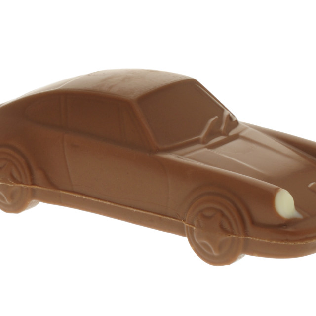 """Chocolate Porsche 911 Sports Car"" stock image"