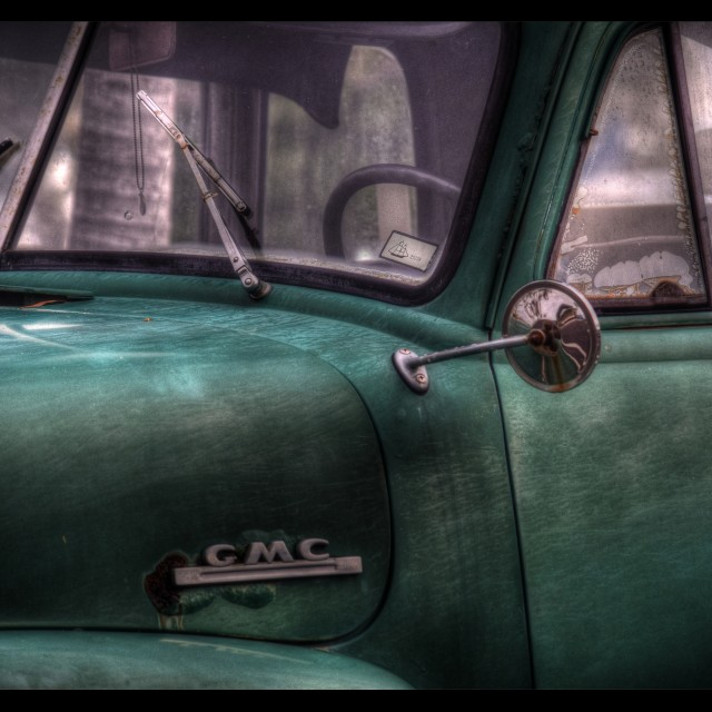 """GMC Truck"" stock image"