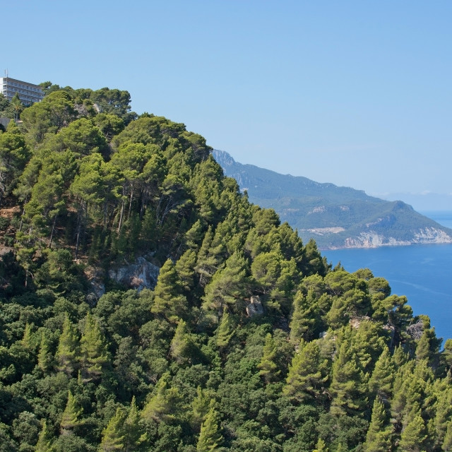 """Mediterranean views in western Mallorca"" stock image"