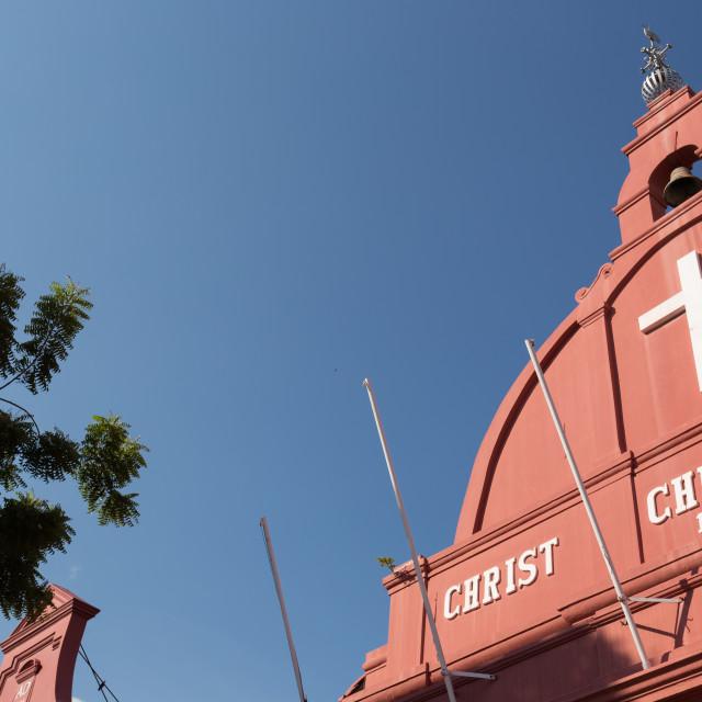 """Malacca church, Melaka Malaysia"" stock image"