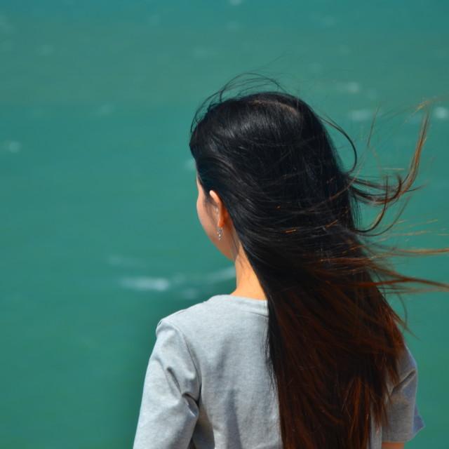 """Sea Girl"" stock image"