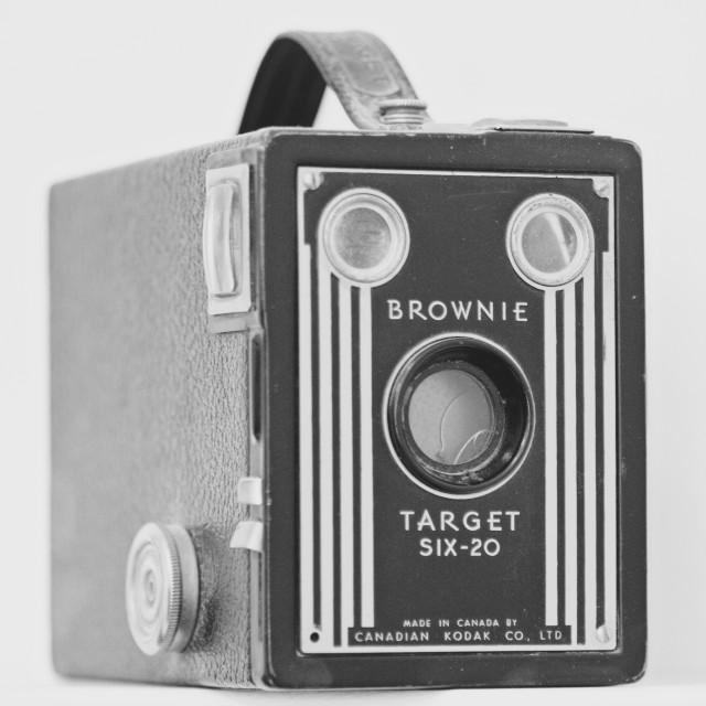 """Vintage Kodak Brownie Camera"" stock image"