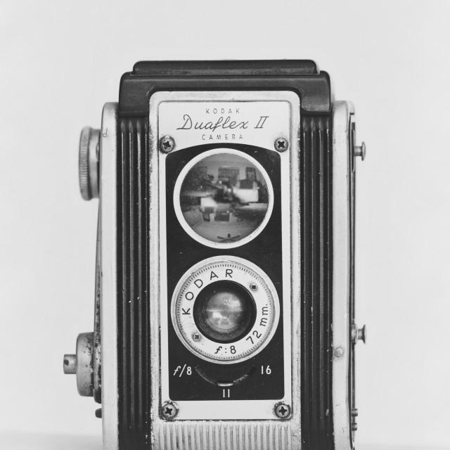 """Vintage Kodak DuaflexII Camera"" stock image"