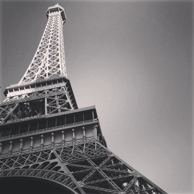 """Eiffel Tower - Las Vegas"" stock image"