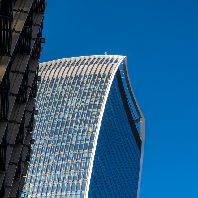 """The Walkie-Talkie,20 Fenchurch Street, City of London, London, Britain"" stock image"