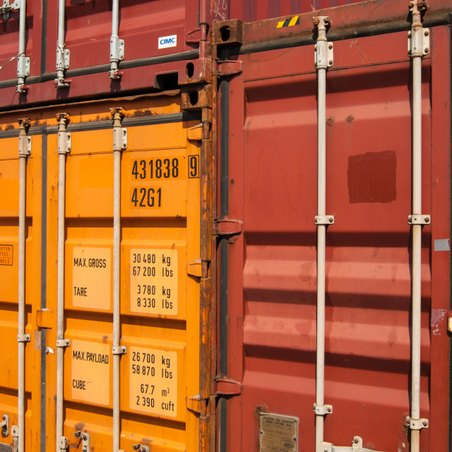"""CONTAINER II"" stock image"