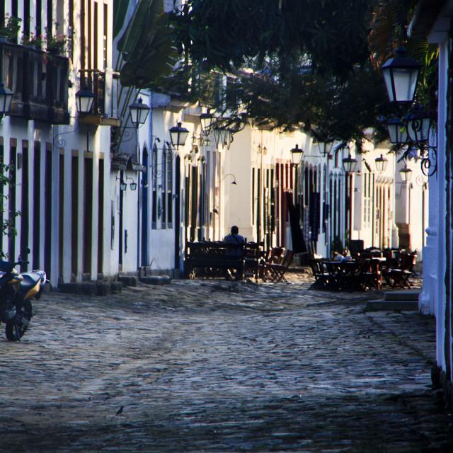 """""""Street of Parati"""" stock image"""