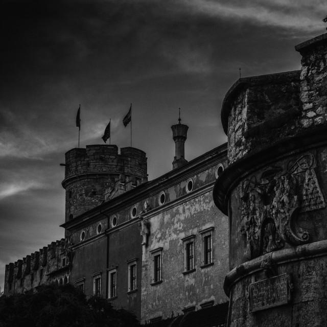 """Kafka's Castle"" stock image"