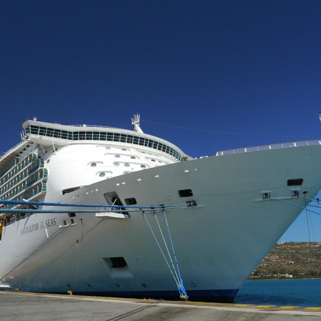 """""""Navigator of the Seas"""" stock image"""