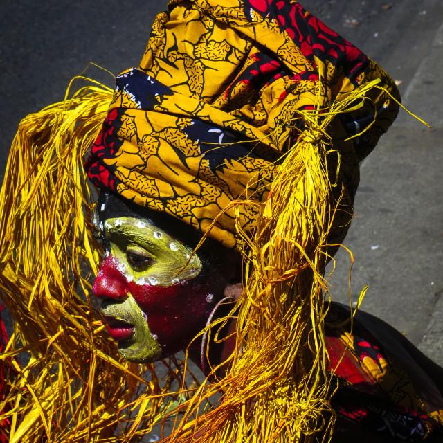 """""""Carneval in Paris"""" stock image"""
