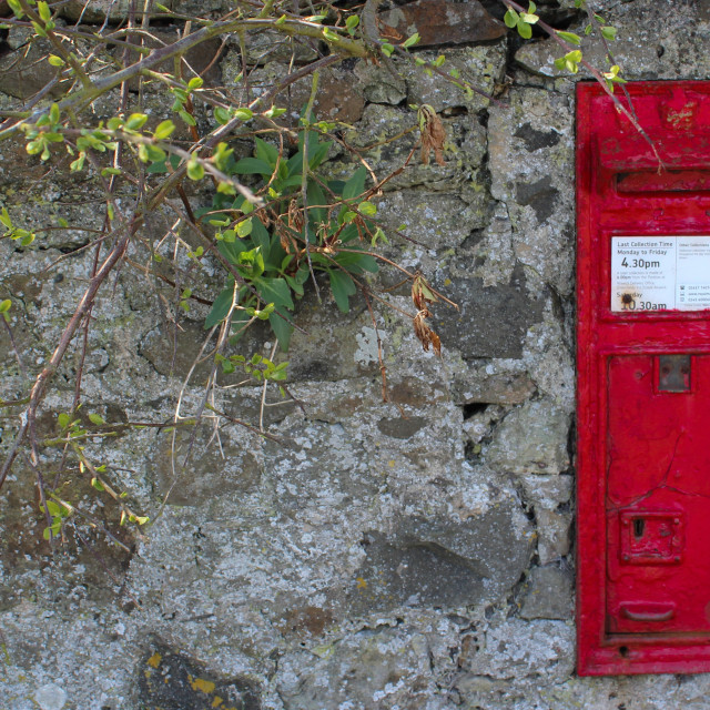 """""""Old letterbox"""" stock image"""