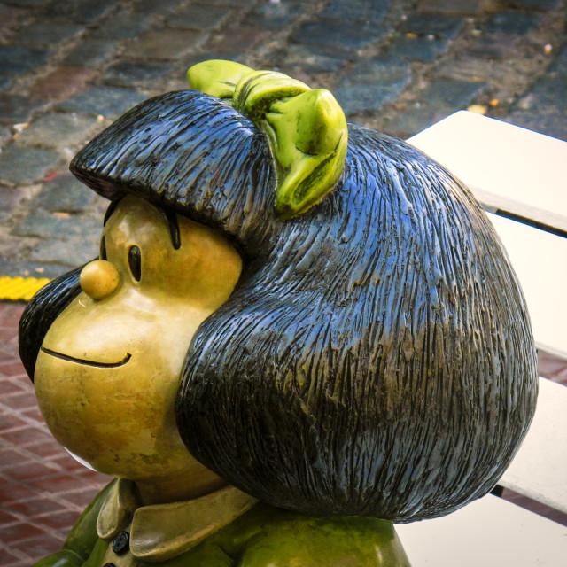 """Mafalda"" stock image"