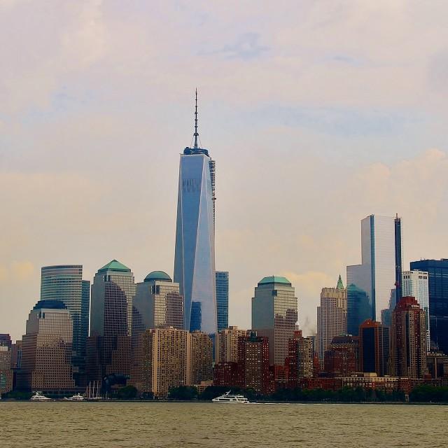"""New York City Skyline"" stock image"