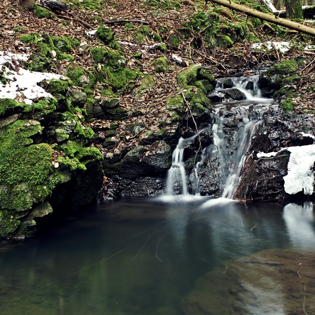 """Krasovsky creek"" stock image"