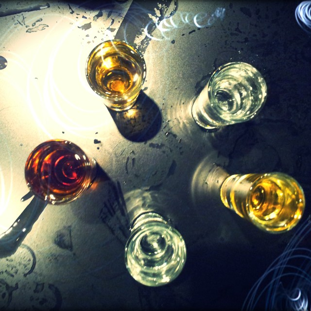 """Vodka Shots"" stock image"
