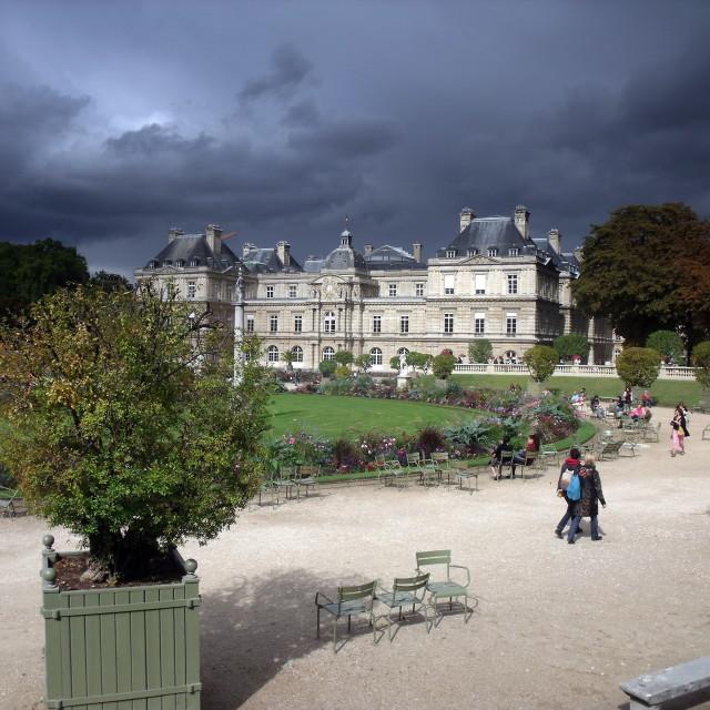"""Jardin du Luxembourg, Paris"" stock image"