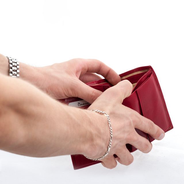 """""""Paying hand"""" stock image"""