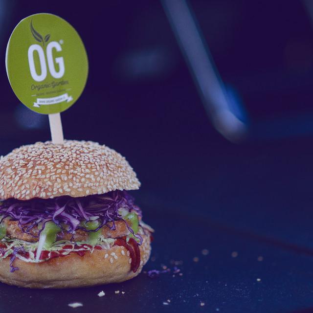 """Burger"" stock image"