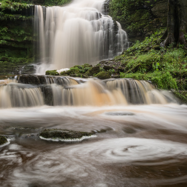"""Scaleber Force - Yorkshire Dales"" stock image"