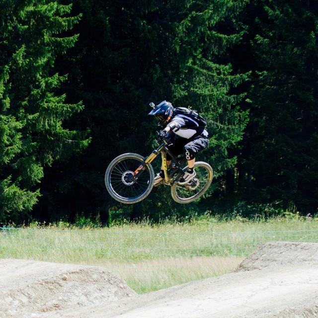 """Mountain Bike Air"" stock image"