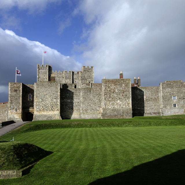 """Dover Castle."" stock image"