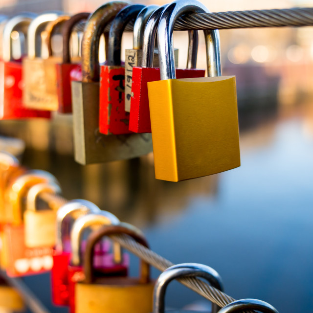 """Locks"" stock image"