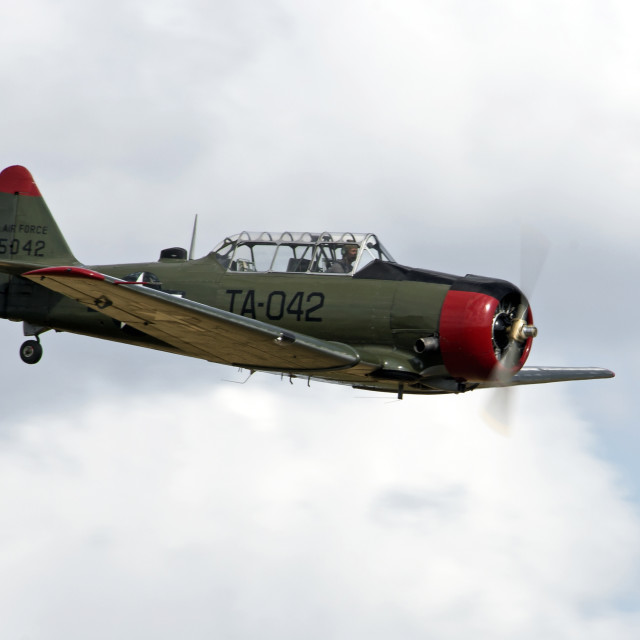 """Harvard T6G Texan"" stock image"