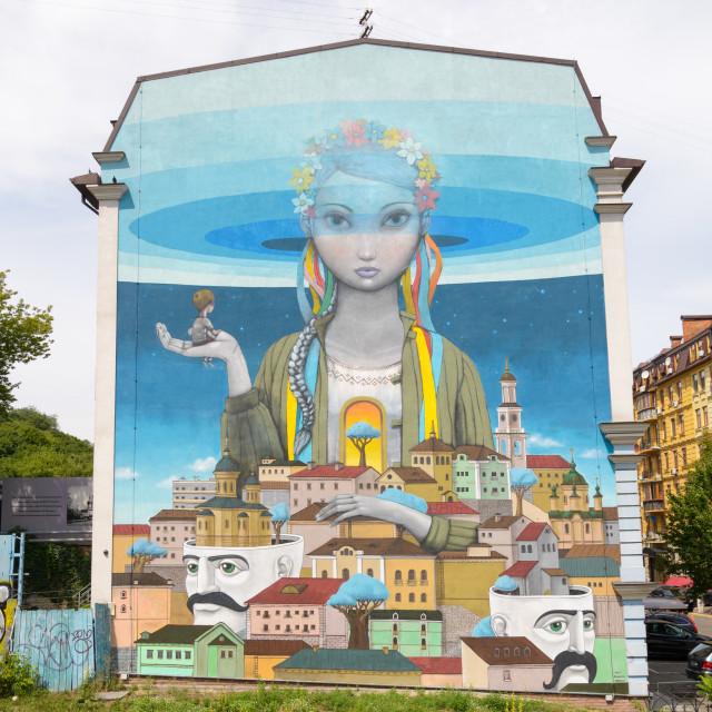 """""""Street Art in Kiev"""" stock image"""