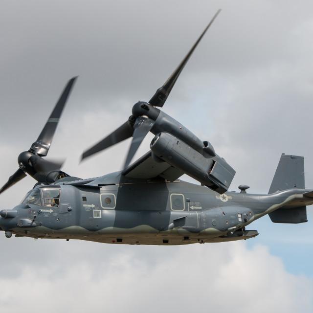 """Bell Boeing CV-22B Osprey"" stock image"