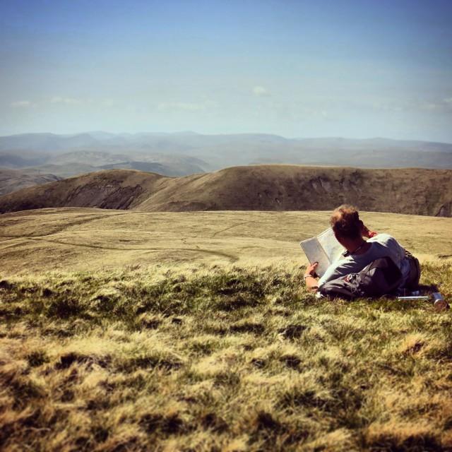 """England's Hills."" stock image"
