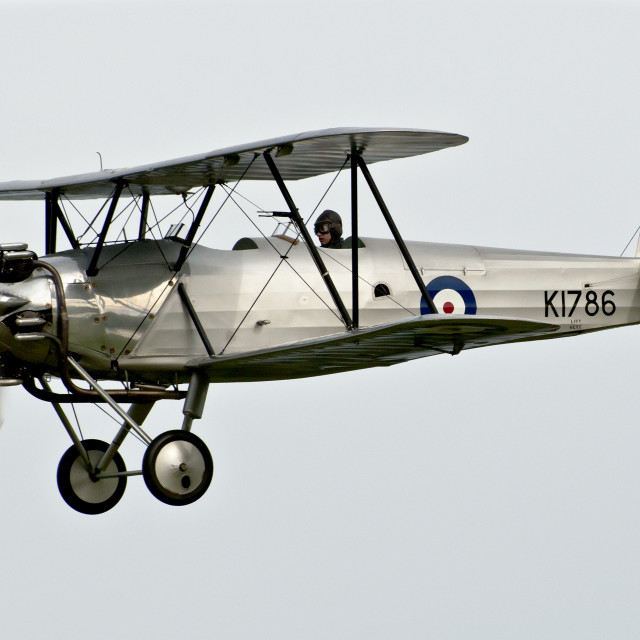 """Hawker Tomtit 1931"" stock image"