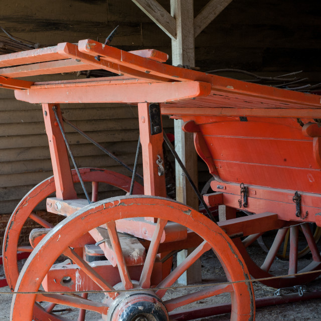 """Hay Cart"" stock image"