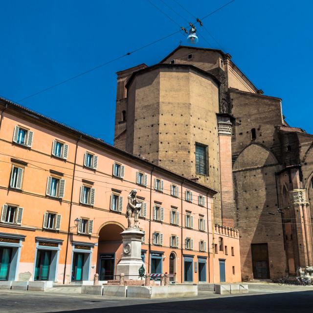 """Bologna Centro"" stock image"