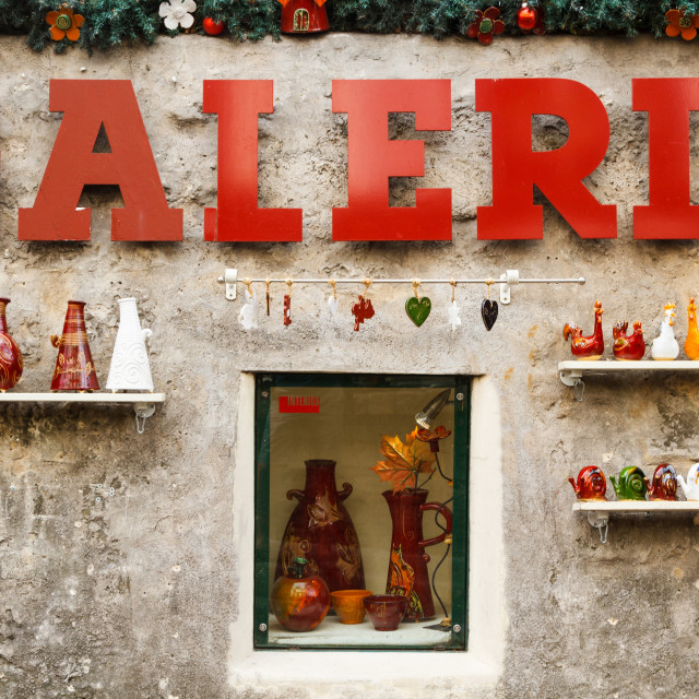"""Galerie"" stock image"