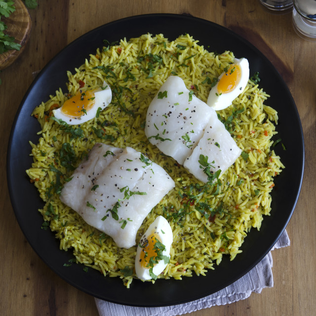 """Kedgeree"" stock image"