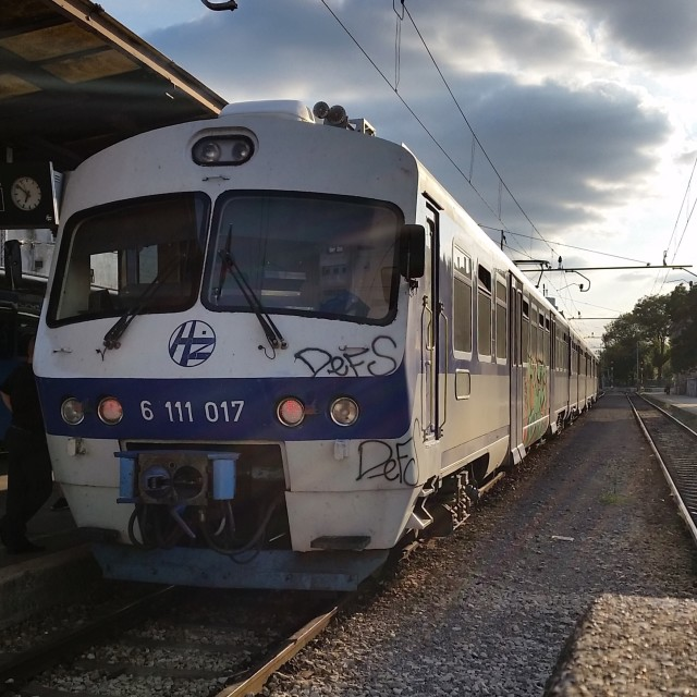 """Croatian Train"" stock image"