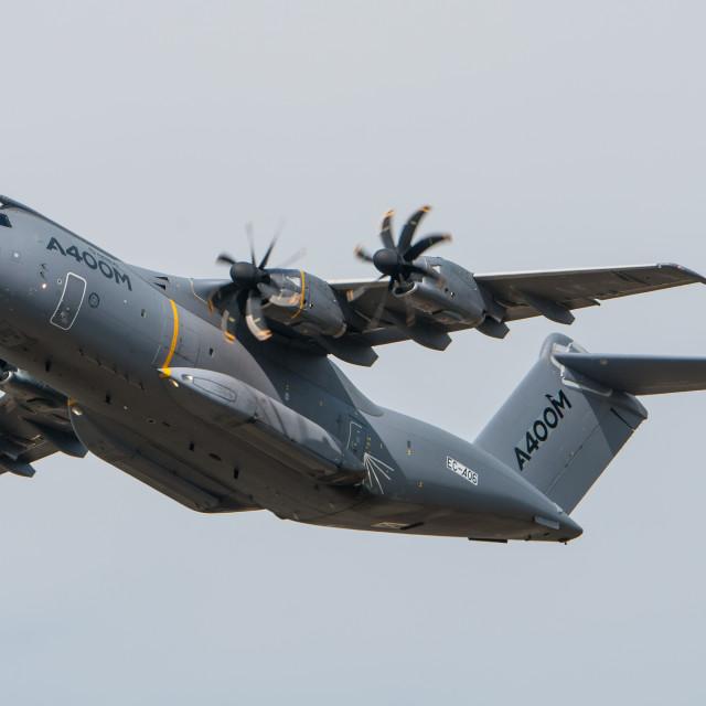 """Airbus A400M Atlas"" stock image"