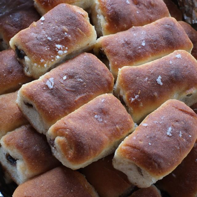 """""""Marmalade buns"""" stock image"""