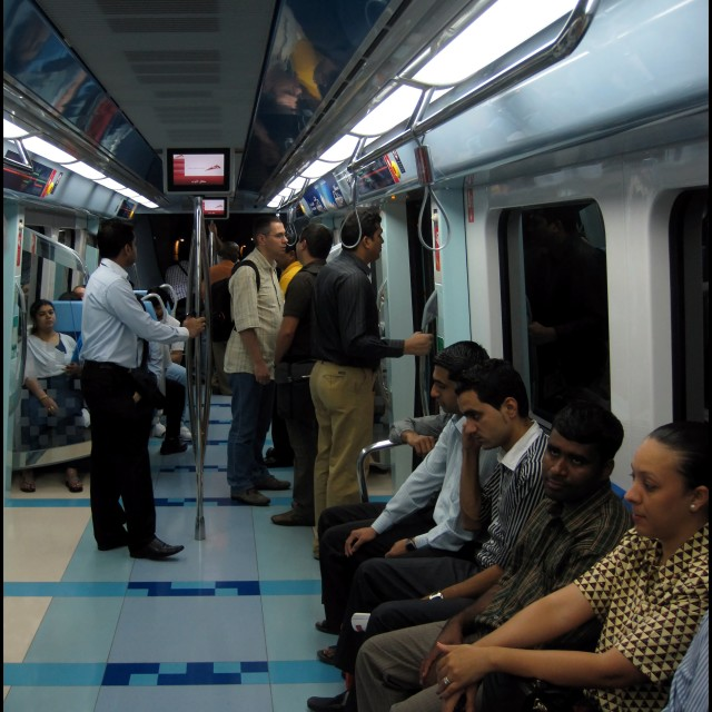 """The Dubai Underground 3"" stock image"
