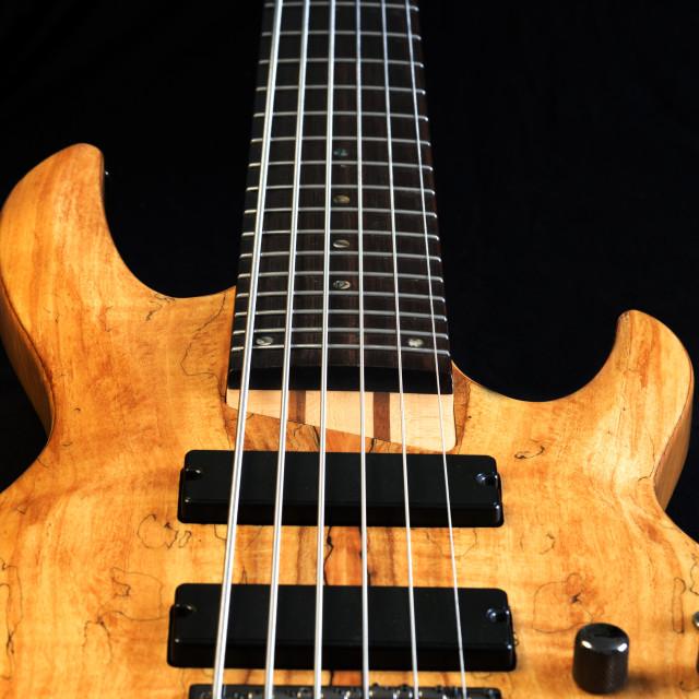 """""""Bass Guitar."""" stock image"""