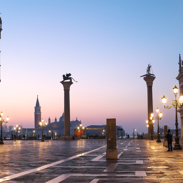 """Sunrise in Venice"" stock image"