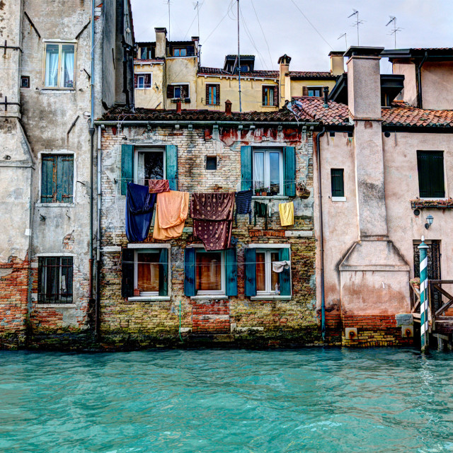 """the old Venice"" stock image"