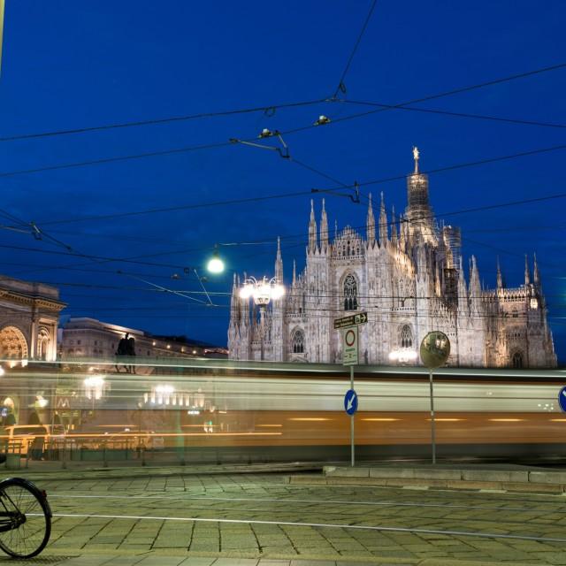 """""""Milano Duomo"""" stock image"""