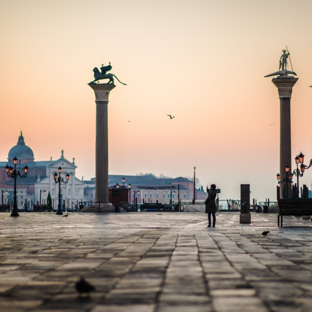 """San Marco - morning"" stock image"
