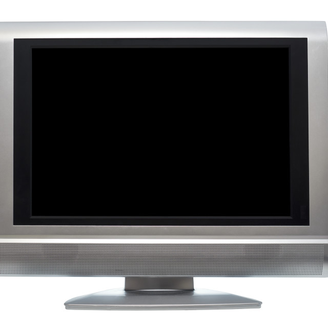 """Flat Screen Television"" stock image"