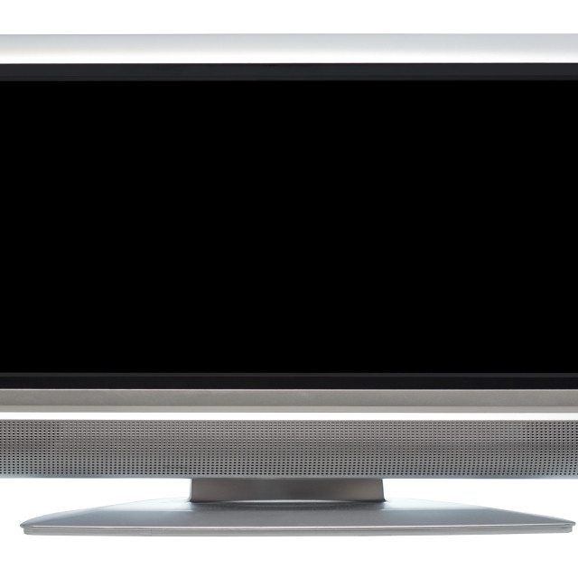 """""""Flat Screen Television"""" stock image"""