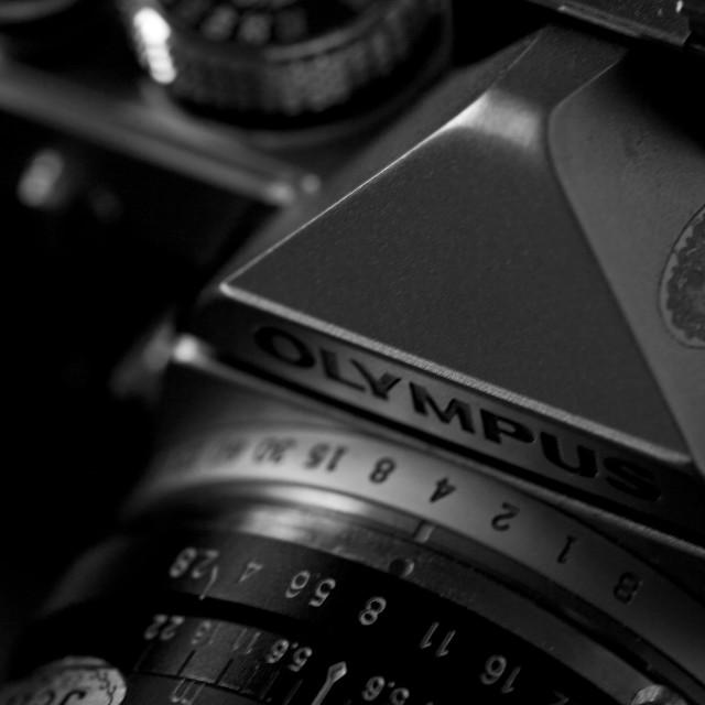 """Olympus OM1"" stock image"