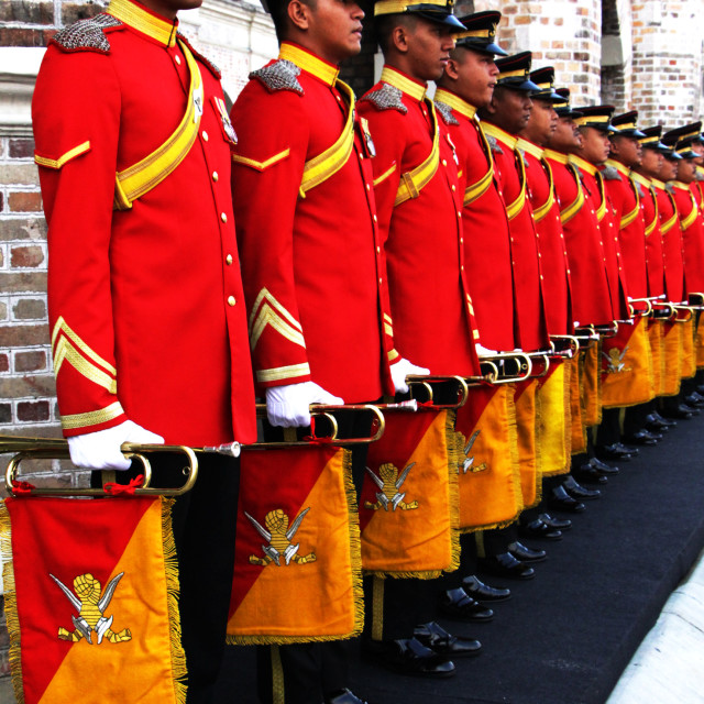 """Royal Malaysia Armor Regiment"" stock image"