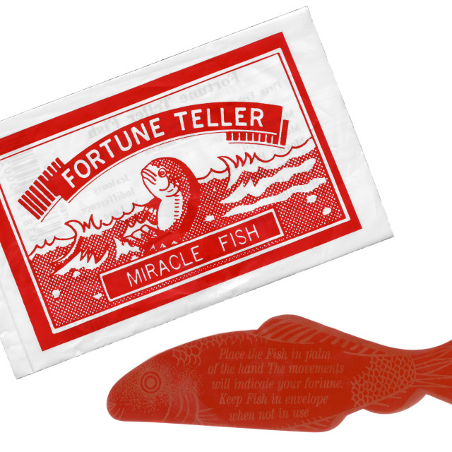 """""""Fortune Teller Miracle Fish."""" stock image"""
